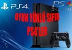 PS4 OYUN YÜKLÜ