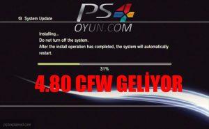 PS3 4.80 CFW ÇIKTI