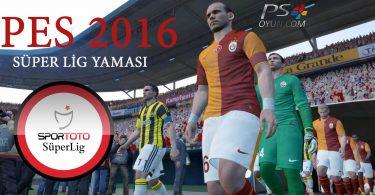 ps3 pes 2016 türkiye ligi, pes 2016 stsl ptt 1.ligi