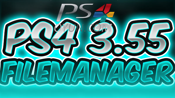 PS4 3.55 FileManager
