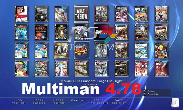 Multiman 4.78 cfw