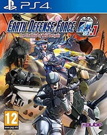 PS4 EARTH DEFENSE FORCE