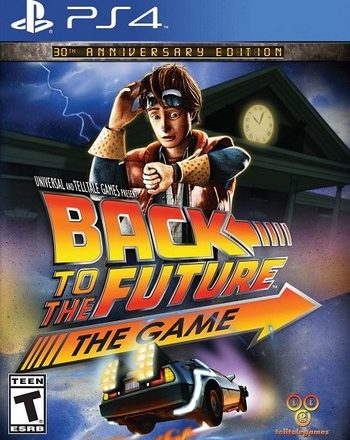 PS4 BACK TO THE FUTURE