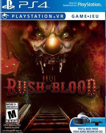 PS4 RUSH BLOOD VR