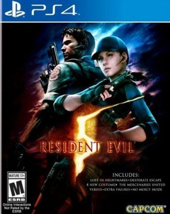 PS4 RESIDENT EVIL 5