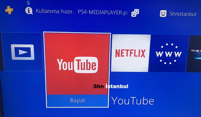 PS4 YOUTUBE-NETFLİX-MEDİA PLAYER-PLEX 5 05 REHBER | Ps4 Oyun