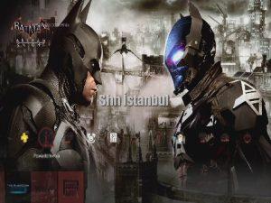 Batman Arkham Knight Hero and Villain PS Plus Exclusive