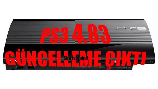 PS3 4 83 UPDATE GÜNCELLEME ÇIKTI DİKKAT !!!!! | Ps4 Oyun