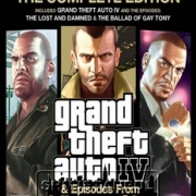 Grand Theft Auto (GTA) IV Complete Edition-ps3-